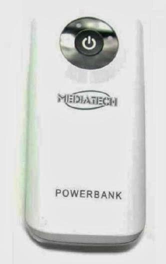 Harga Mediatech MPW-01e Power Bank 5600 mAh