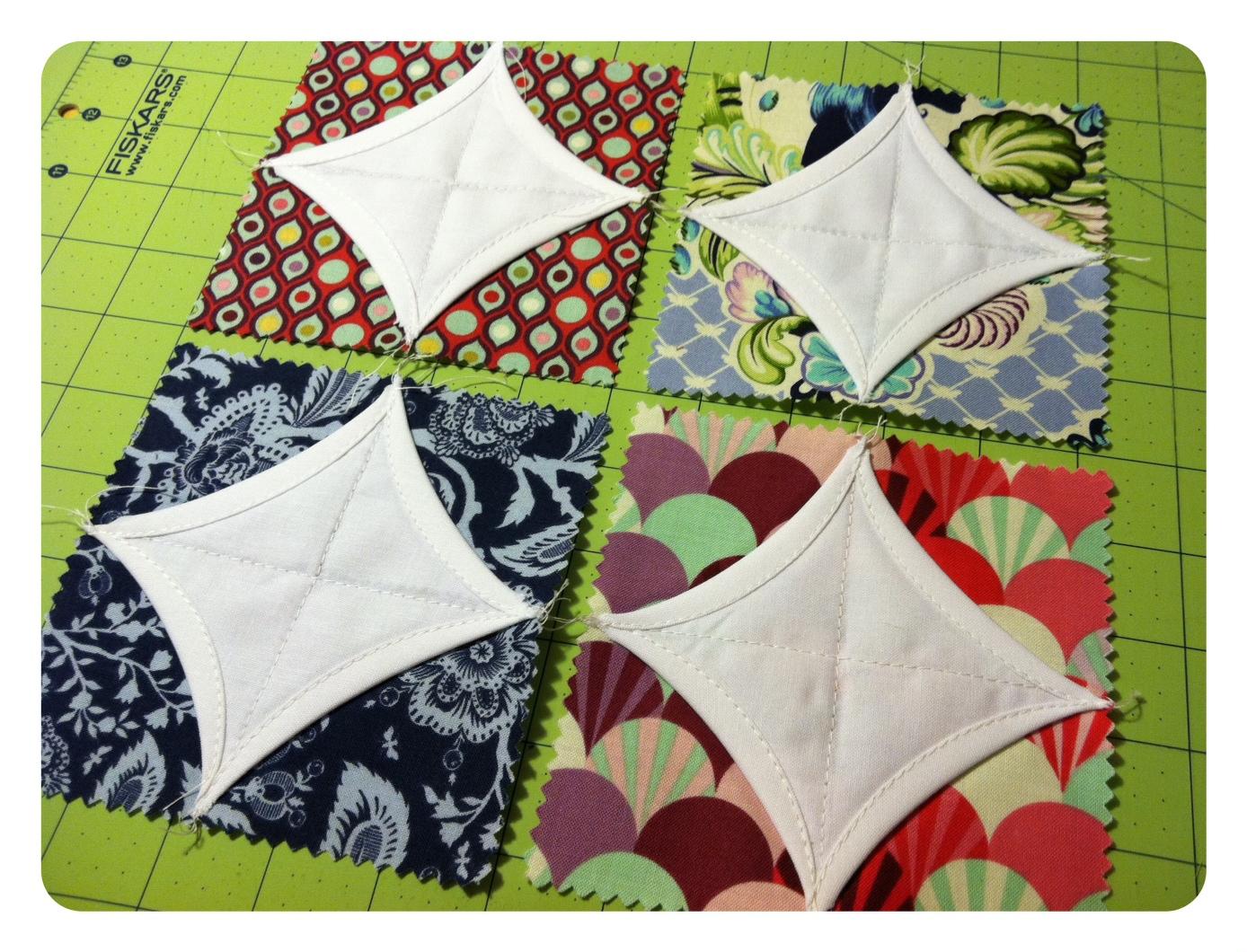 A Stellar Block | Quilting in the Rain : cathedral quilt block pattern - Adamdwight.com