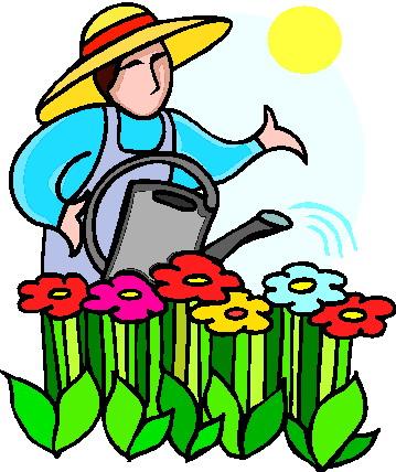 Gallery For School Garden Clipart - garden clip art help