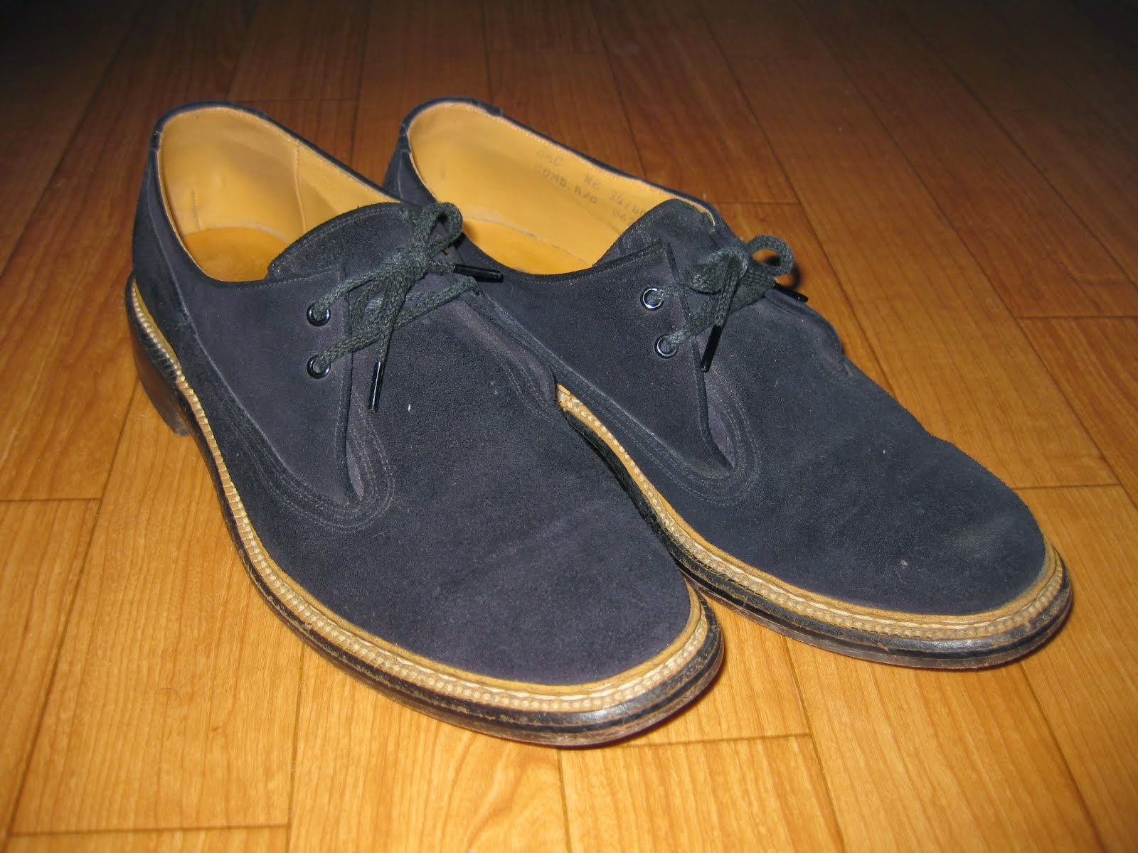50's BLUE SUEDE SHOES SIZE表記:8 1/2