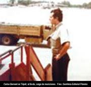. descansaba sobre una montaña de armas de la URSS, debía estar vigilado. piloto en libia mlv