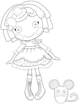 muñeca lalaloopsy con ratón