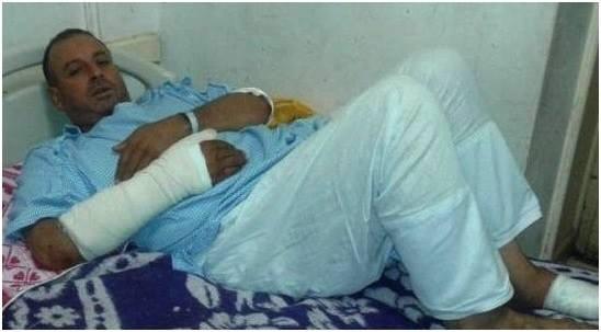 """اطلاق سراح مندوب شرطة وشقيقاه بعد الاعتداء على """" معلم كفر الدوار """""""