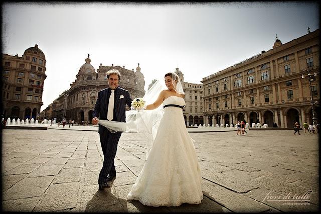 foto matrimionio Genova Piazza De Ferrari
