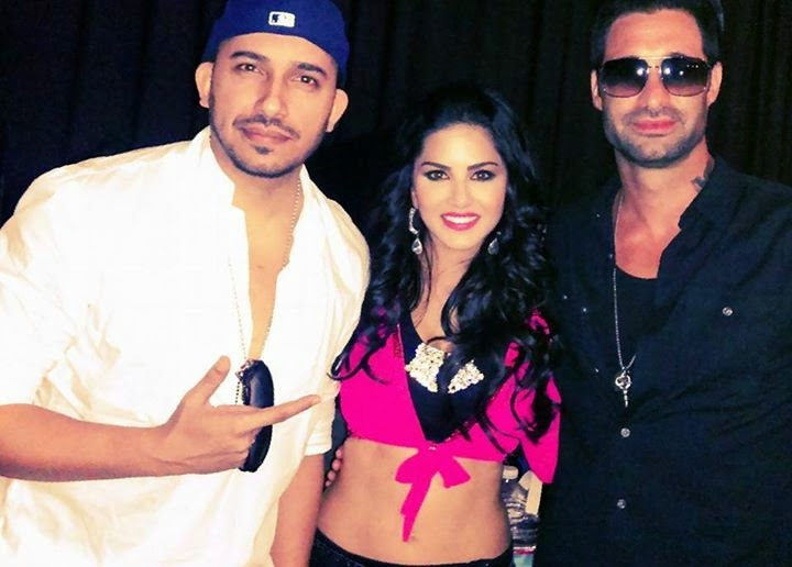 Ali Quli Mirza With Sunny Leone Hot Wild Card Entry Bigg Boss 8