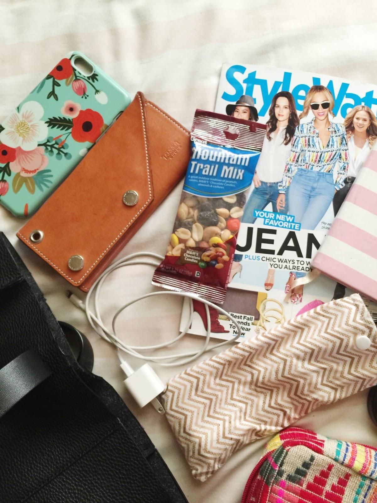 black handbag, fashion blogger, forever 21, iphone 6, portland blogger, Revlon, the ptown girls, what's in my bag, fblogger
