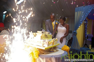 Pictures From Obiwon's Church Wedding & Reception. 18