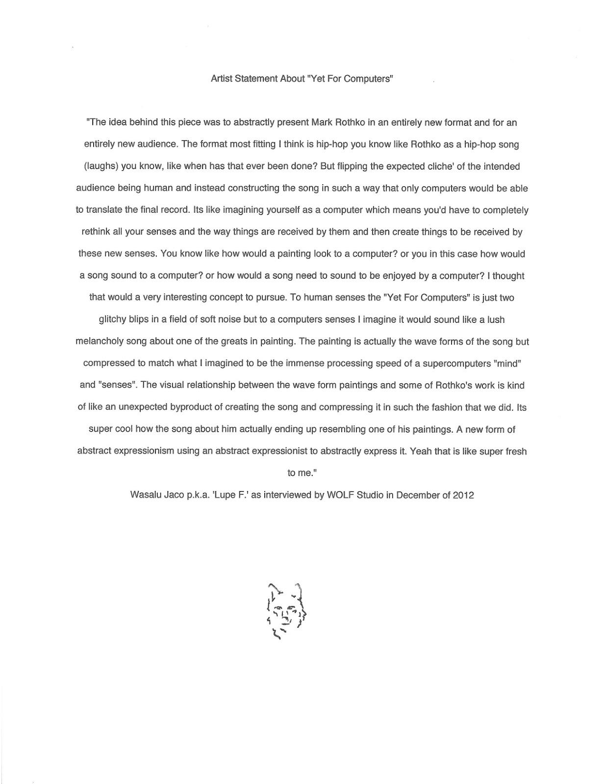 essay about art class
