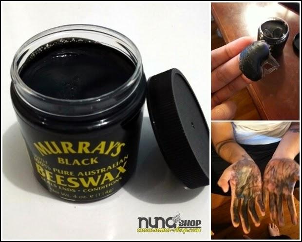 Detail Minyak Rambut Pomade Black BeesWax 100% Pure Australian