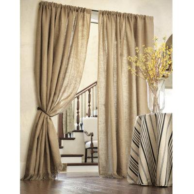 drapery panels for a gray dining room driven by decor dupioni silk drapery panel ballard designs