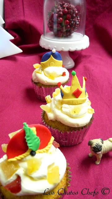 Cupcakes reyes magos