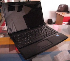 jual laptop 2nd compaq 510
