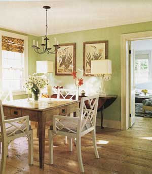 Sherri 39 s jubilee dining room paint choices - Pale green dining room ...