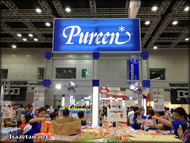 One of the popular vendors, Pureen