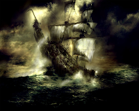 Kisah Davy Jones dan kapal hantu Flying Dutchman...!!!