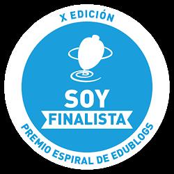 PREMIO ESPIRAL EDUBLOG 2016