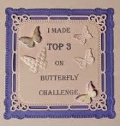 Top 3 at Butterfly Challenge blog