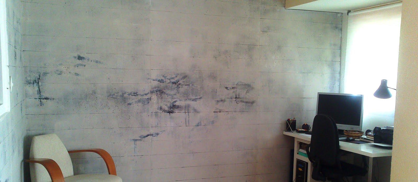Pintura y rotulacion 961506300 decorar con pared - Paredes de cemento ...