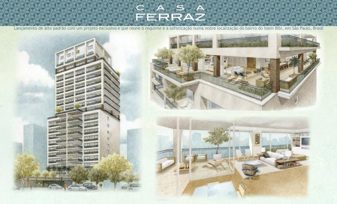 Casa Ferraz - Lançamento de Alto Padrão no Itaim, São Paulo-SP-Brasil