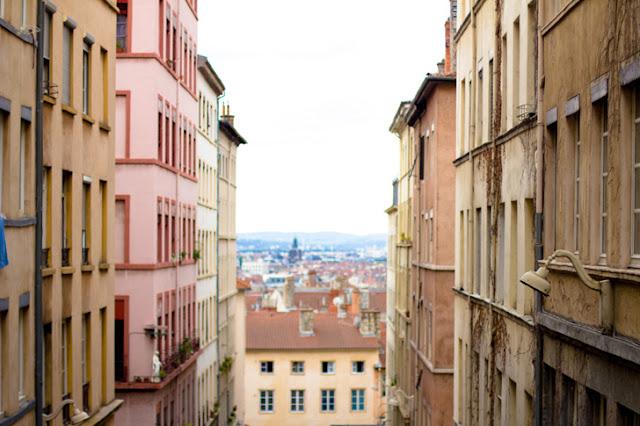 Croix Rousse em Lyon