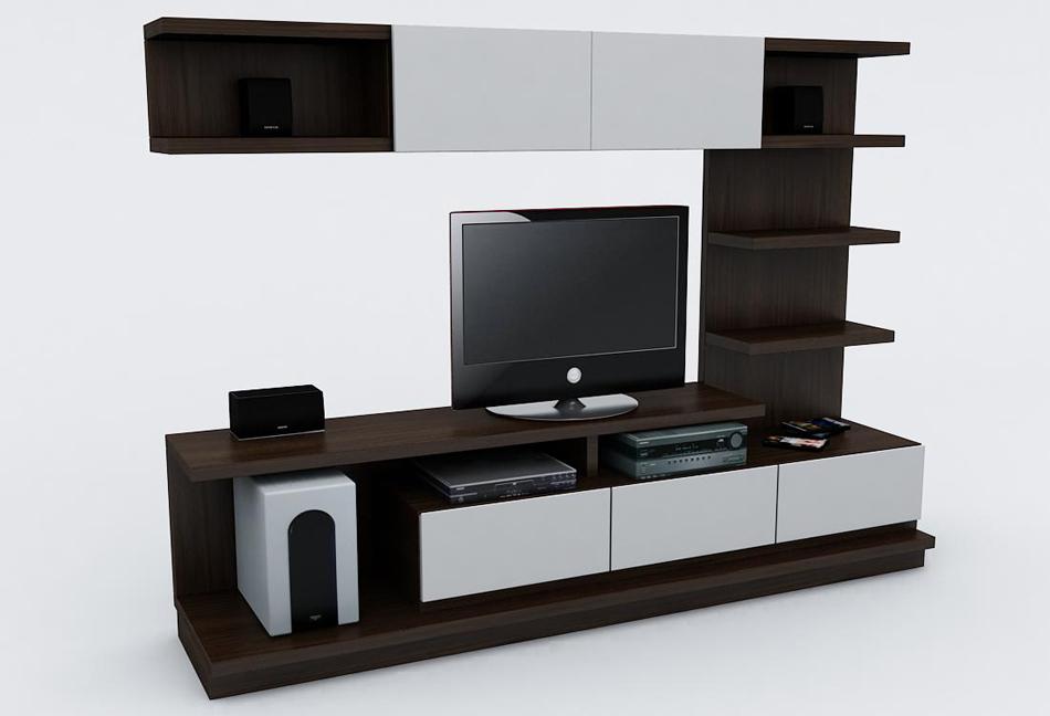 Centro de entretenimiento minimalista - Muebles para tv minimalistas ...