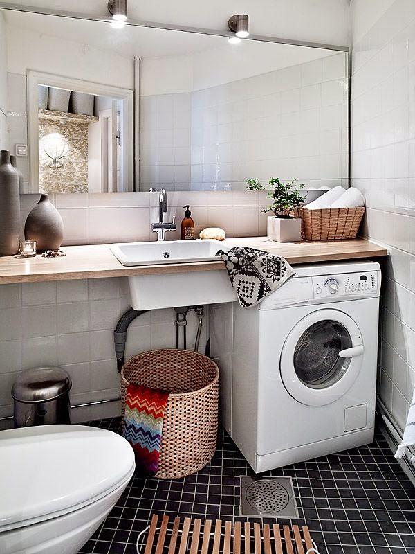 Arquitetando Ideias Lavanderia E Banheiro Juntos Como