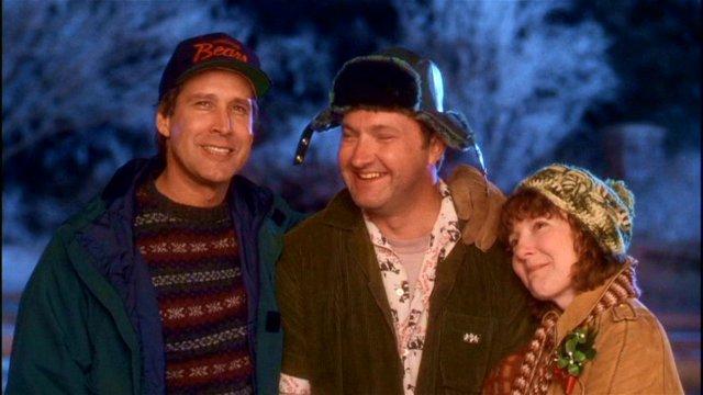 Chevy Chase, Randy Quaid, Miriam Flynn