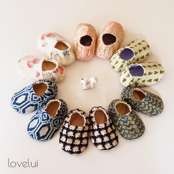 Baby booties lovelui