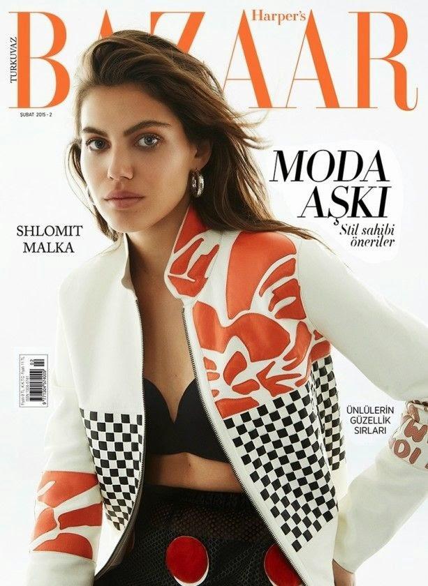 Fashion Model: Shiloh Malka by Cihan Öncü for Harper's Bazaar Turkey