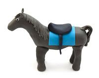 Konj iz tičino mase- Horse from fondant