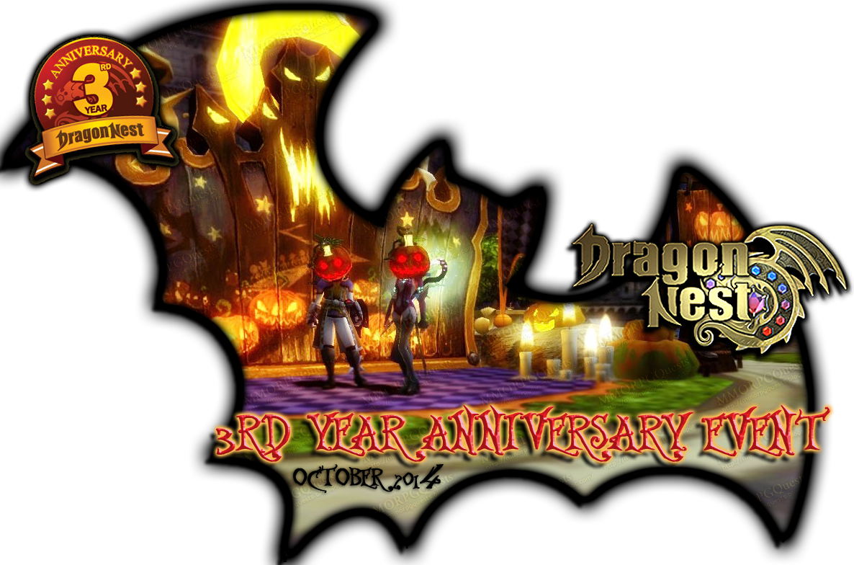 Google themes dragon nest - Dragon Nest Celebrate Dragon Nest S 3rd Year Anniversary Halloween Event