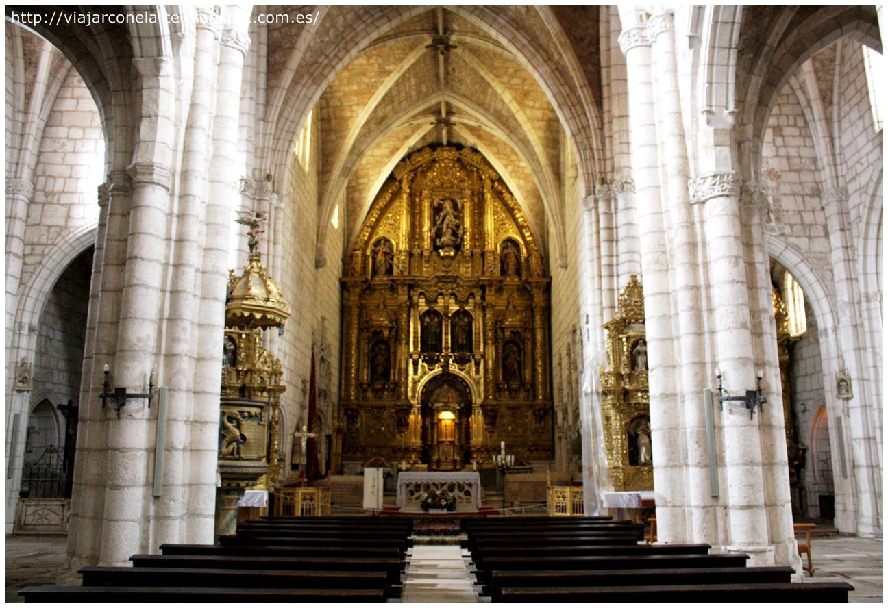 La ex colegiata de San Cosme y San Damián de Covarrubias, en Burgos