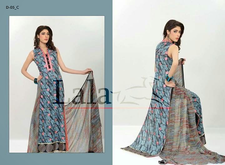 Lala Madham Lawn Embroidered Dresses