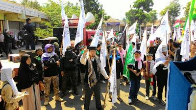 Allahu Akbar! Ribuan Umat Islam Ikuti Parade Tauhid Tolak Syiah di Magelang
