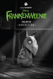 Los entresijos de Frankenweenie, de Tim Burton, llegan a CineEurope con la exposición 'The Art of Frankenweenie'. Revista Making Of de cine