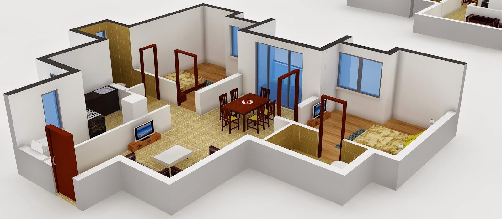 Interior design 2 bhk flat for 2 bhk flat interior decoration