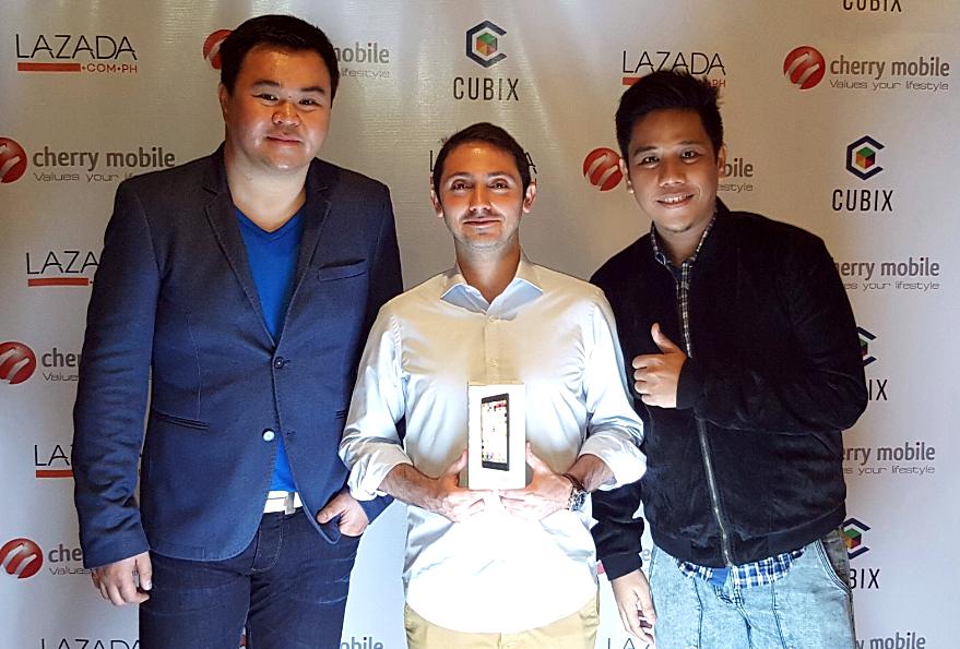 Mark Milan Macanas, Maynard Ngu, Inanc Balci, Cubix Philippines