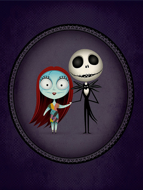 sally and jack a nightmare before christmas