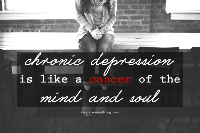 Depression is like Cancer