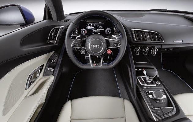 2017 Audi R8 E-Tron Interior