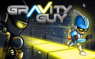 Screenshots of the Gravity Guy for Android tablet, phone.