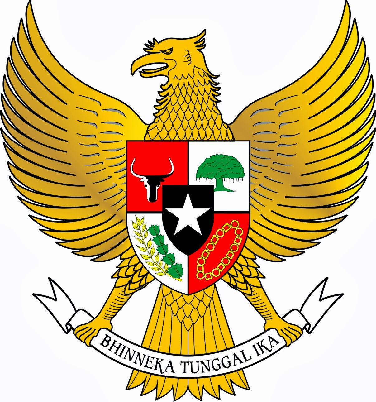 gambar garuda pancasila indonesia - gambar binatang