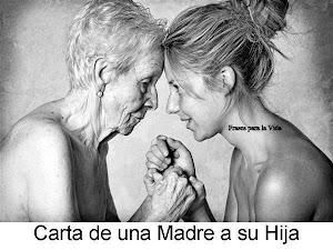 CARTA DE UNA MADRE A SU HIJA