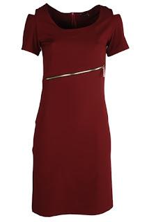 afrodit kırmızı elbise modeli