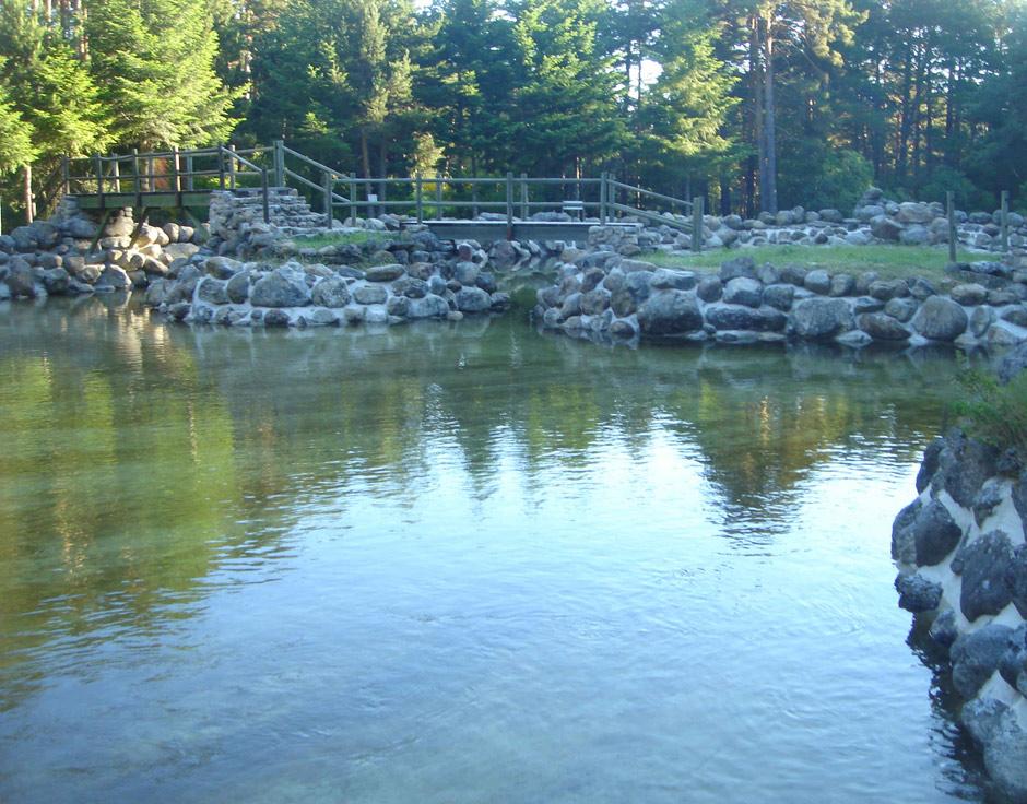 el pajar de pedraza piscinas naturales de navafr a segovia