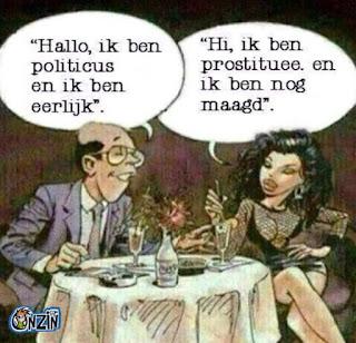 loon van een prostituee