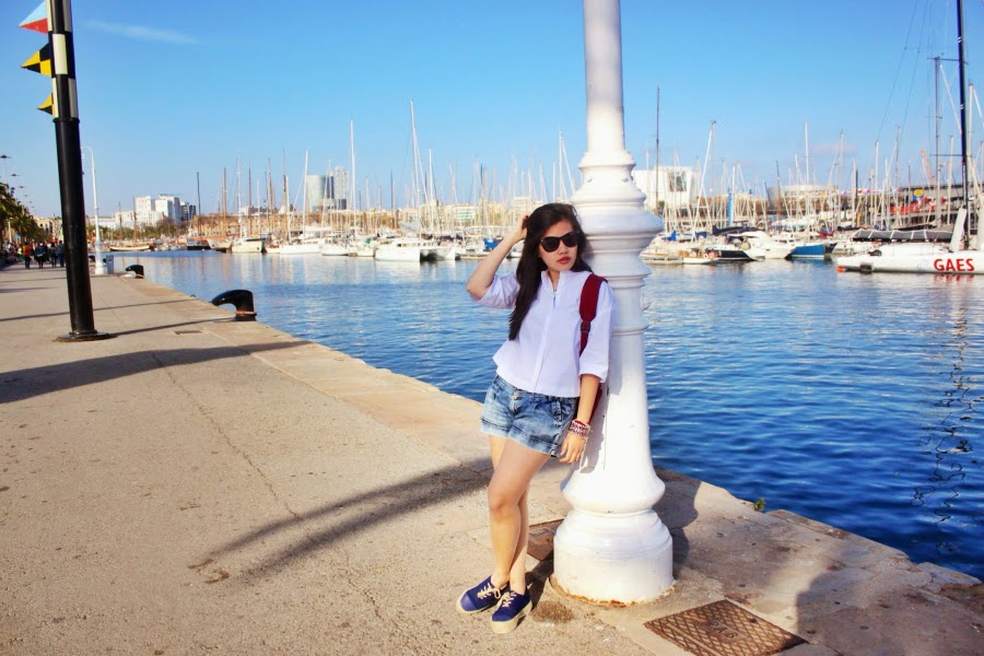 ootd, photography, lookbook, travel diary, barcelona, singapore blogger, yours xincerely