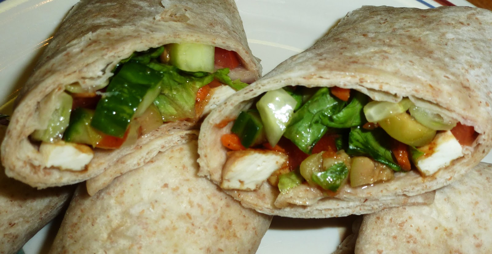 if you are fond of veggie wraps the garden salad wraps page 112 will ...