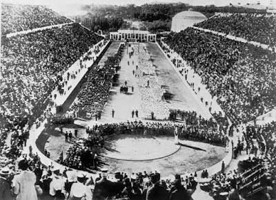 Ceremonia de inauguración Juegos Olímpicos Atenas 1896