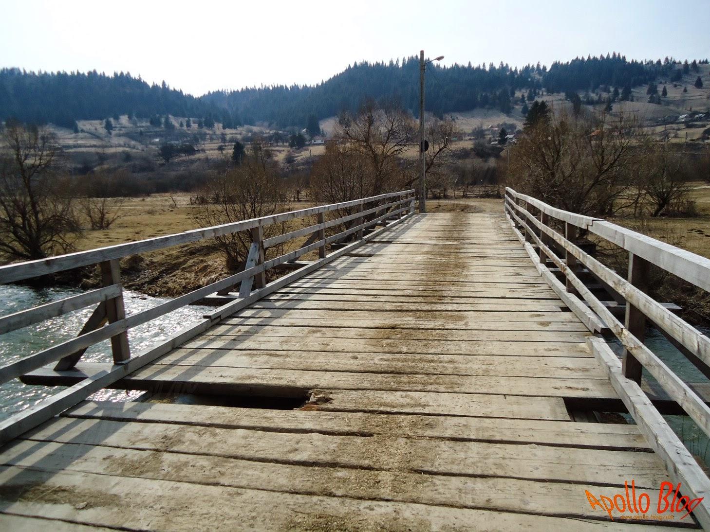 Pod de lemn Vagani